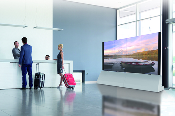 The Benefits Of A Video Wall Are Of Course Well Known; But With A Video Wall  Trolley Of Audipack, You Have Much More Flexibility. In Contrast To A  Permanent ...