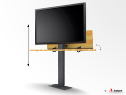 Pop-up TV lift system