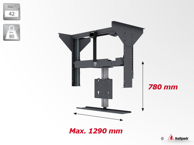 tv lift system drive hettich inspiration design f r tv m bel. Black Bedroom Furniture Sets. Home Design Ideas
