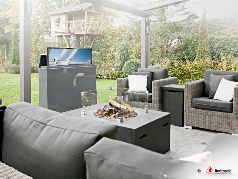 40 Inch Outdoor Buiten Tv Meubel Gardenview Audipack