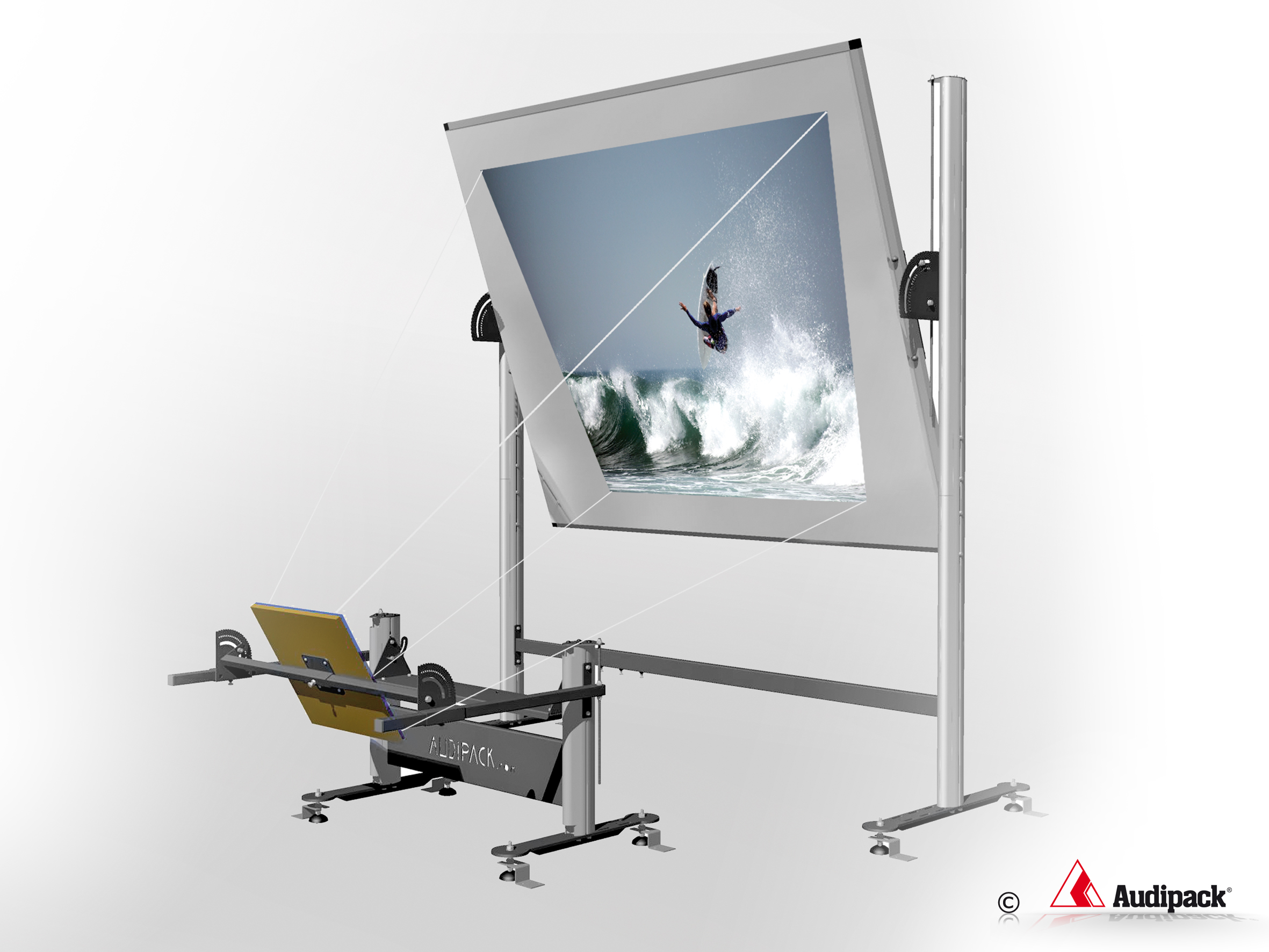 Rear Projection Set Ups Audipack It S Great To Have